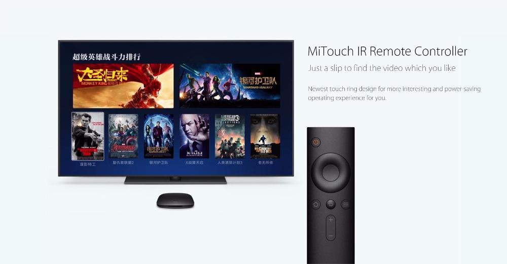 Xiaomi Mi 3S 4K TV Box Android 6.0 Quad Core Set-top Box
