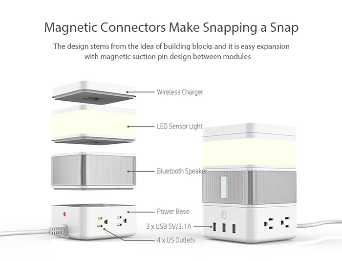 magnetic connection, convenient and durable