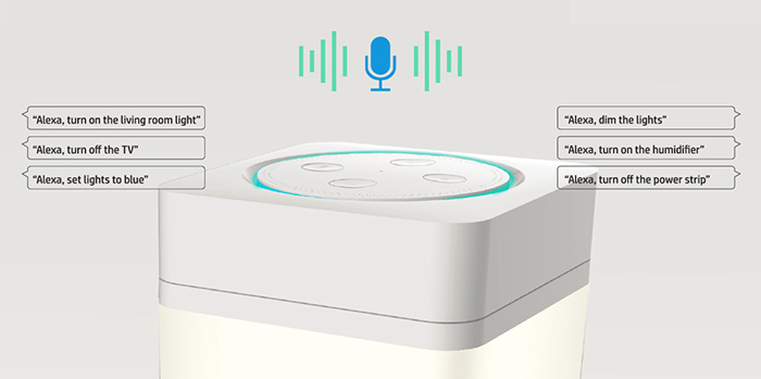 enabling you to control your devices with just the sound of your voice.