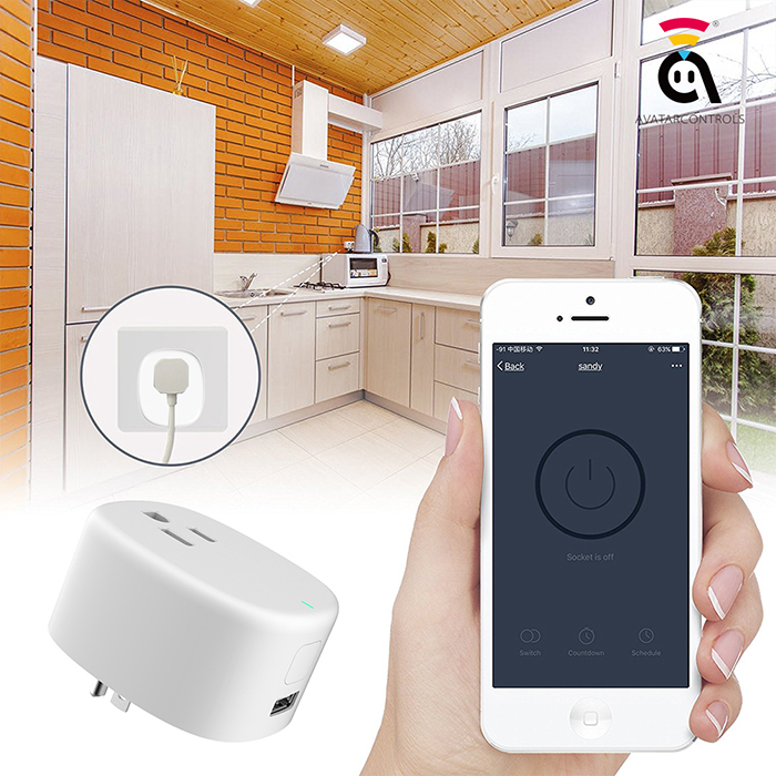 allows you to save energy and bills without wasteful power supply, monitoring the use and consumption of appliances when you need it.