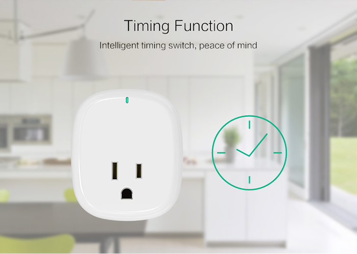 different timing for different needs without interference, all your household devices as TV/coffee machine/microwave oven, light, etc. can be scheduled as you need.
