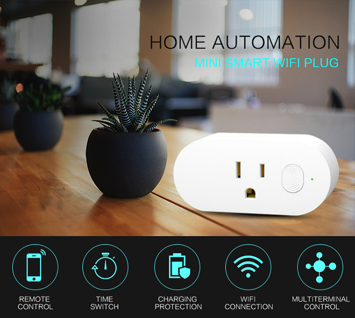 AvatarControls smart home WiFi plug for managing remotely