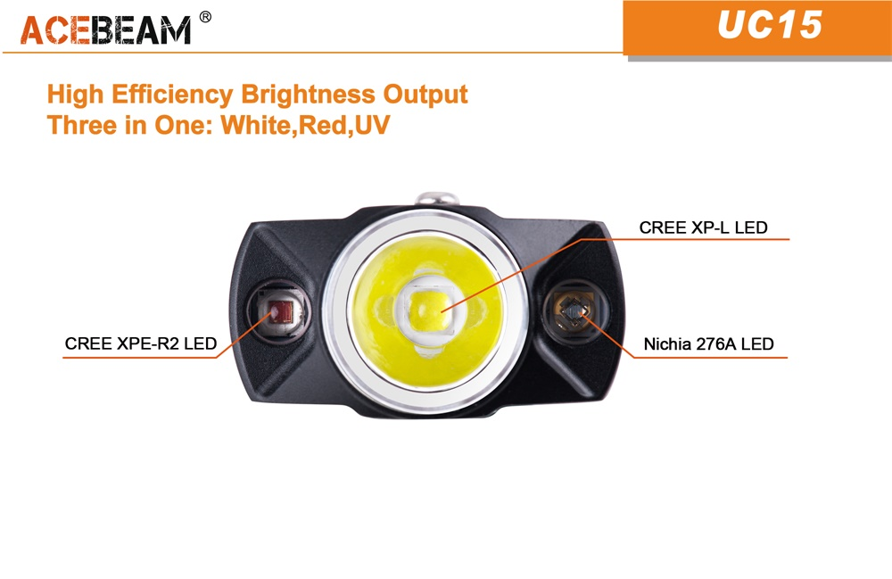 uc15 keychain light