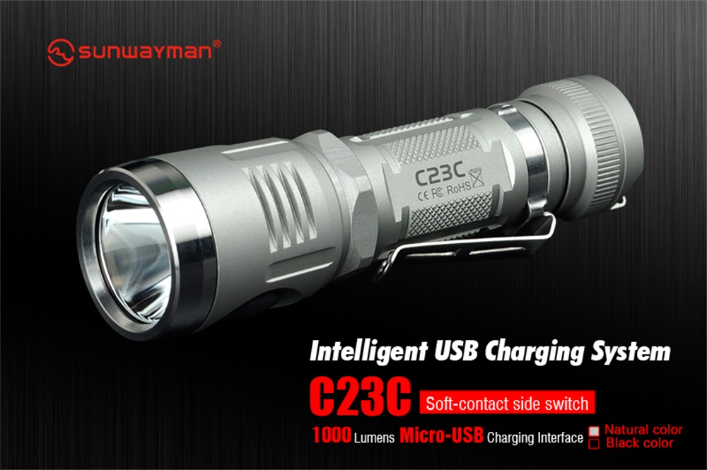 sunwayman c23 flashlight