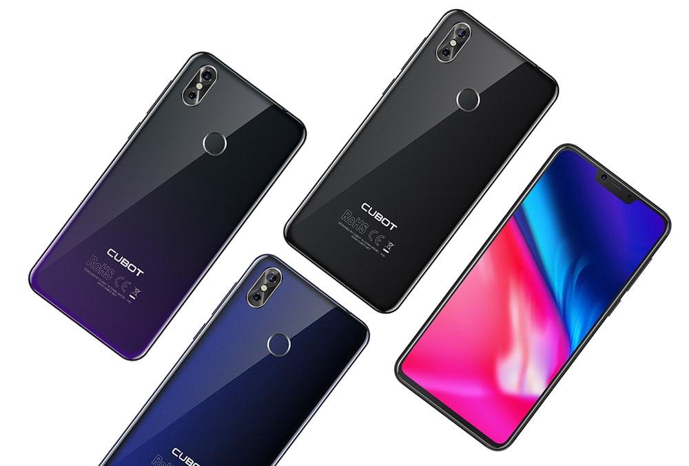 buy cubot p20 4g smartphone