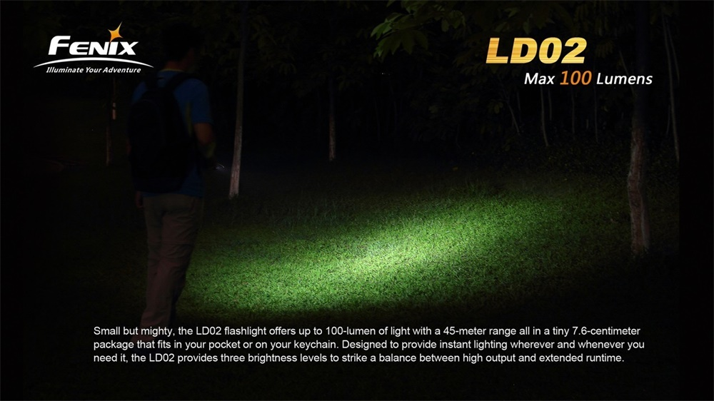 fenix ld02 flashlight