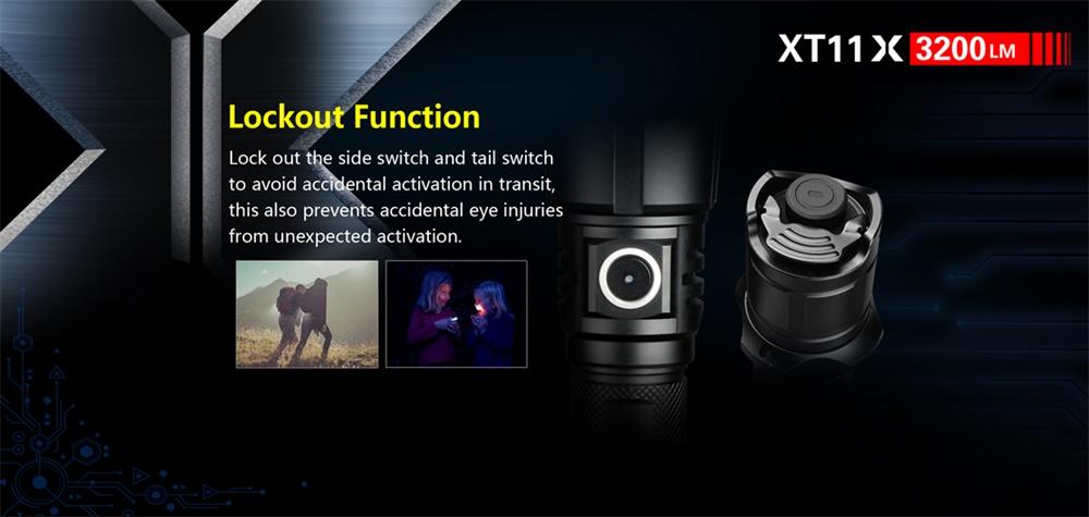 new klarus led flashlight