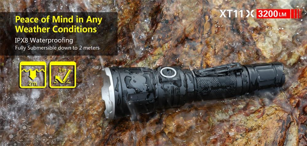 new klarus tactical flashlight