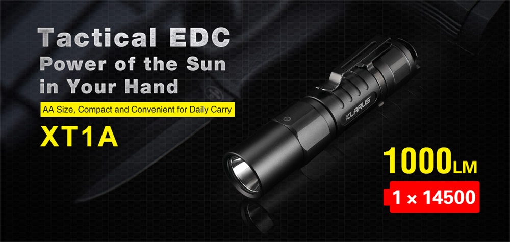 klarus xt1a flashlight
