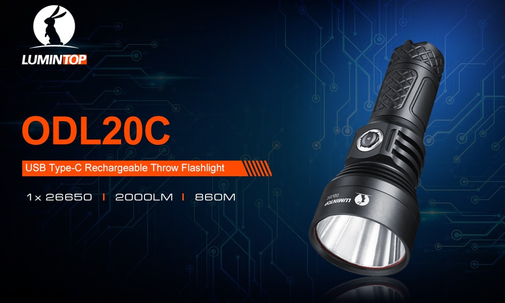 lumintop odl20c flashlight