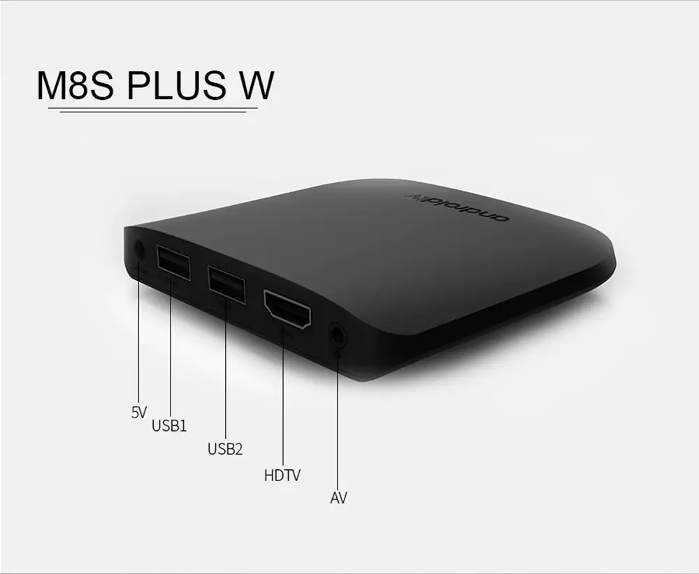 m8s plus w android box