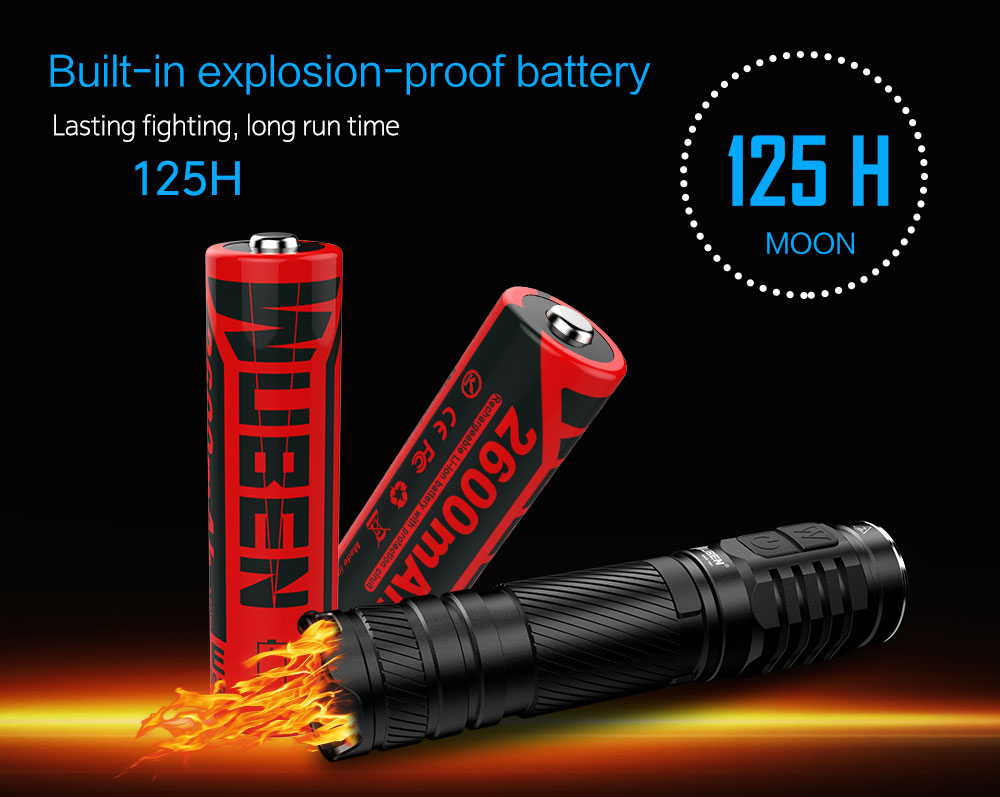 wuben t046r tactical flashlight