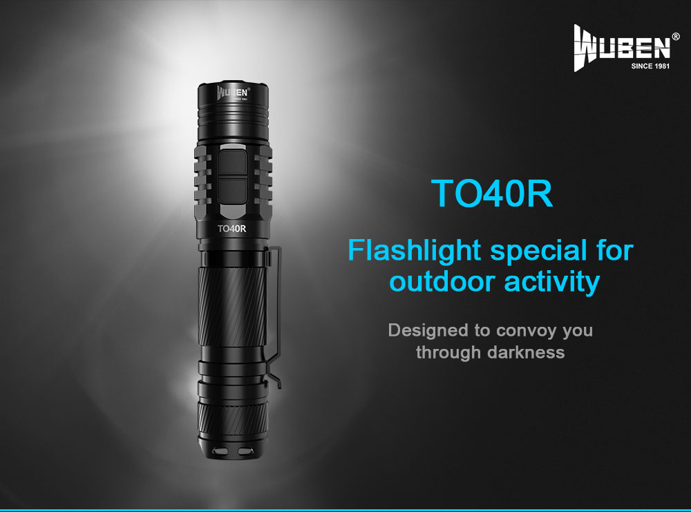 wuben to40r flashlight