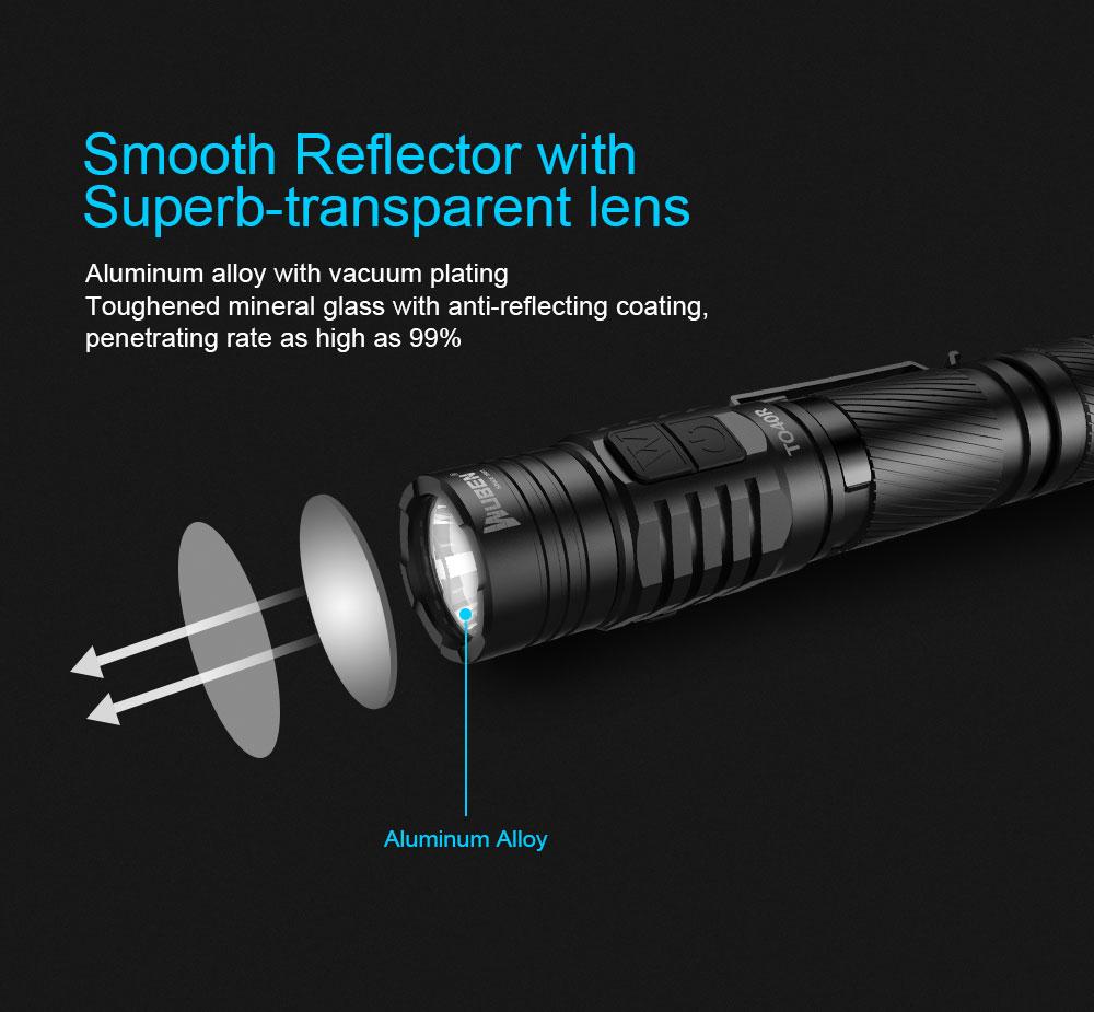 best wuben flashlight