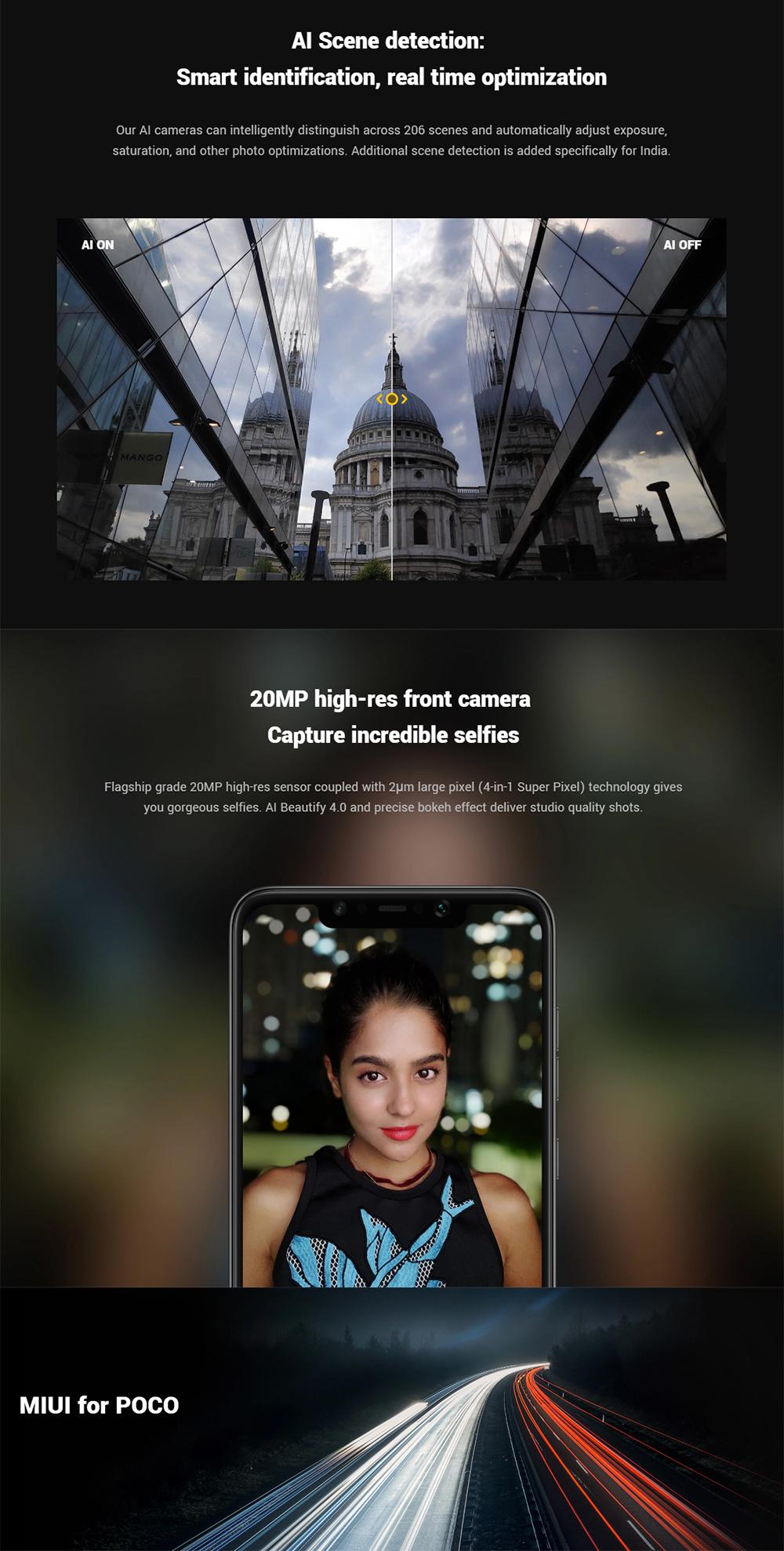 xiaomi poco f1 4g smartphone