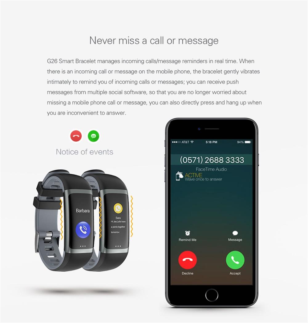 g26 smart bracelet price