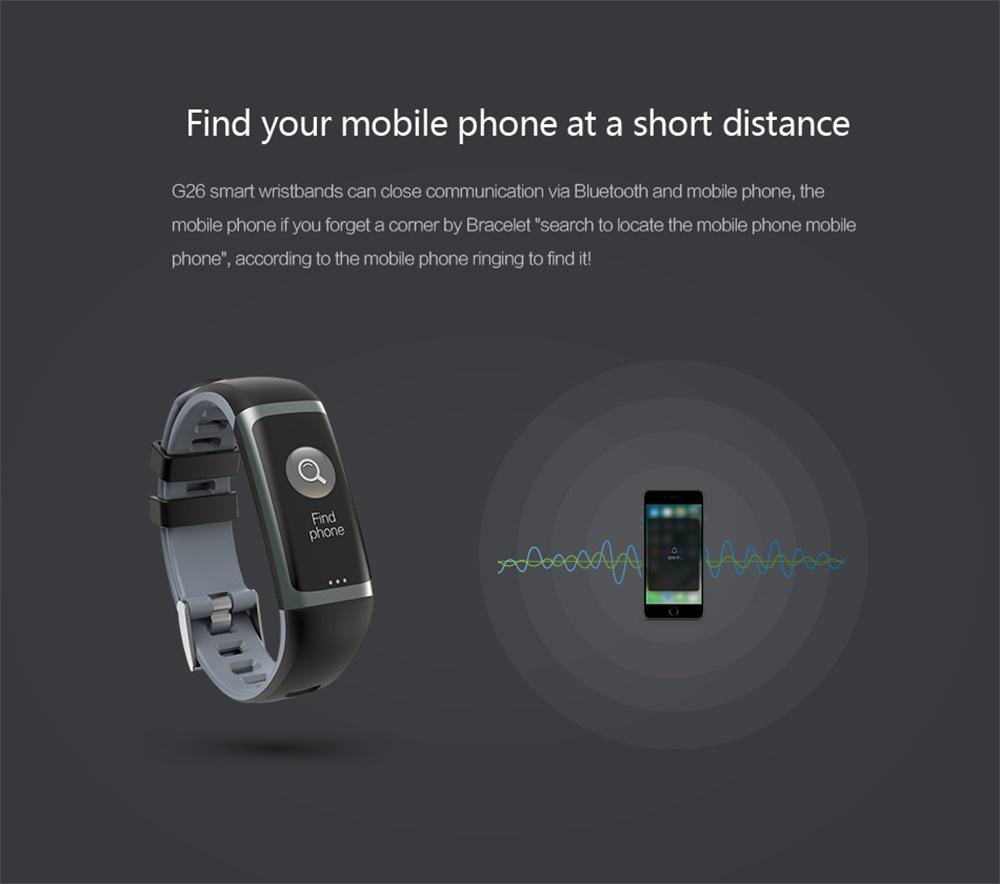 2018 g26 smart bracelet