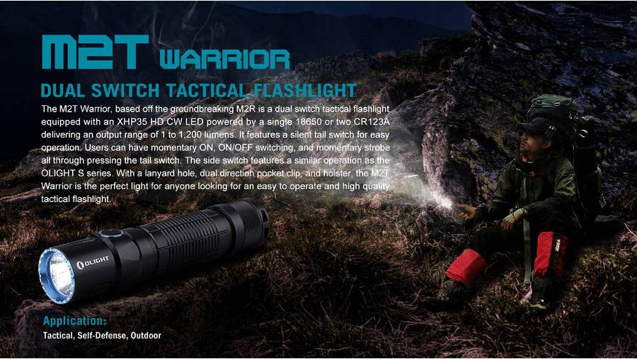 m2t warrior tactical flashlight
