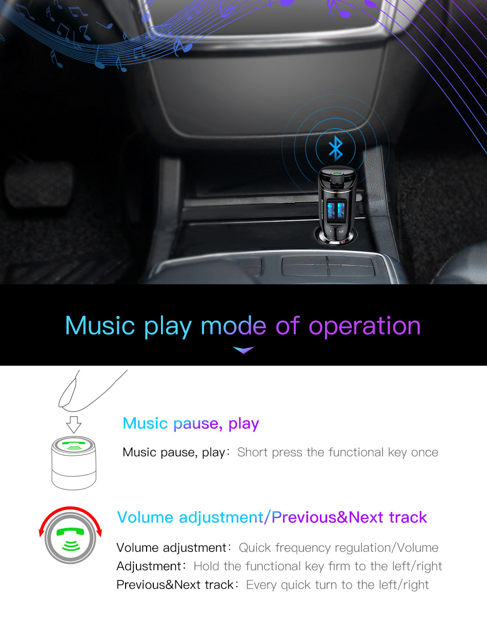 baseus s06 car bluetooth kit