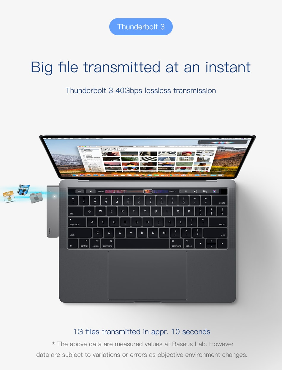 new baseus macbook hub