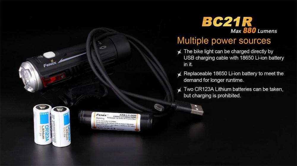 bc21r bike light