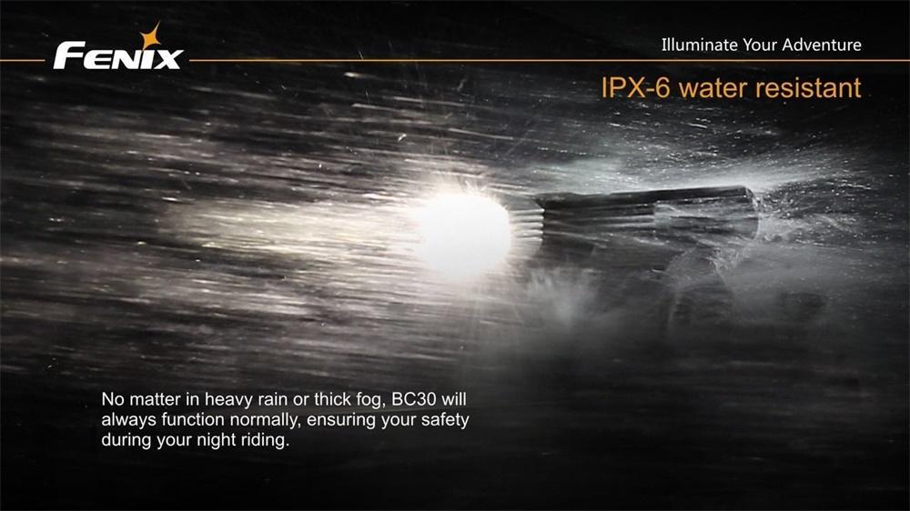 fenix bc30 crycling light