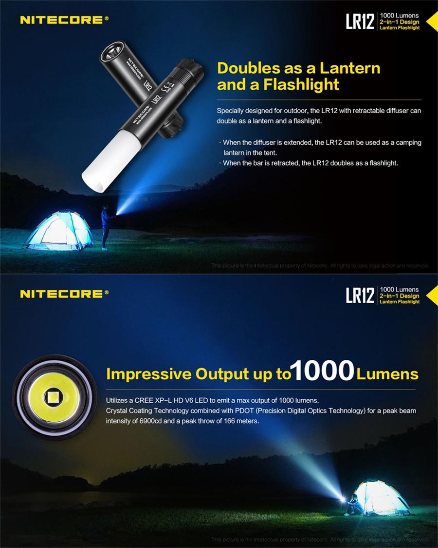 buy nitecore lr12 light