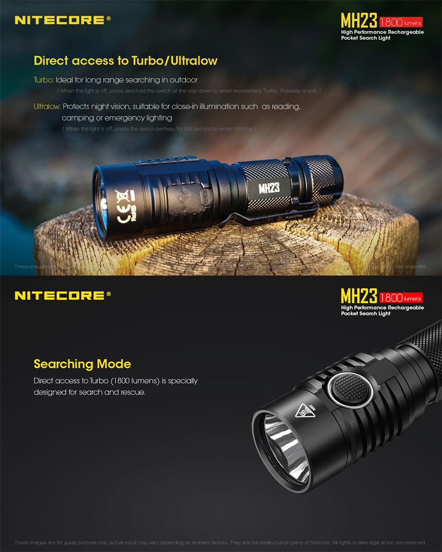mh23 flashlight
