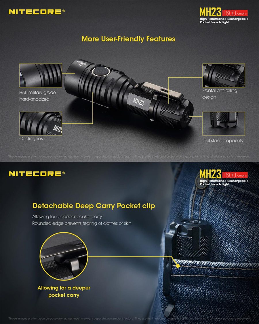 buy nitecore mh23 flashlight