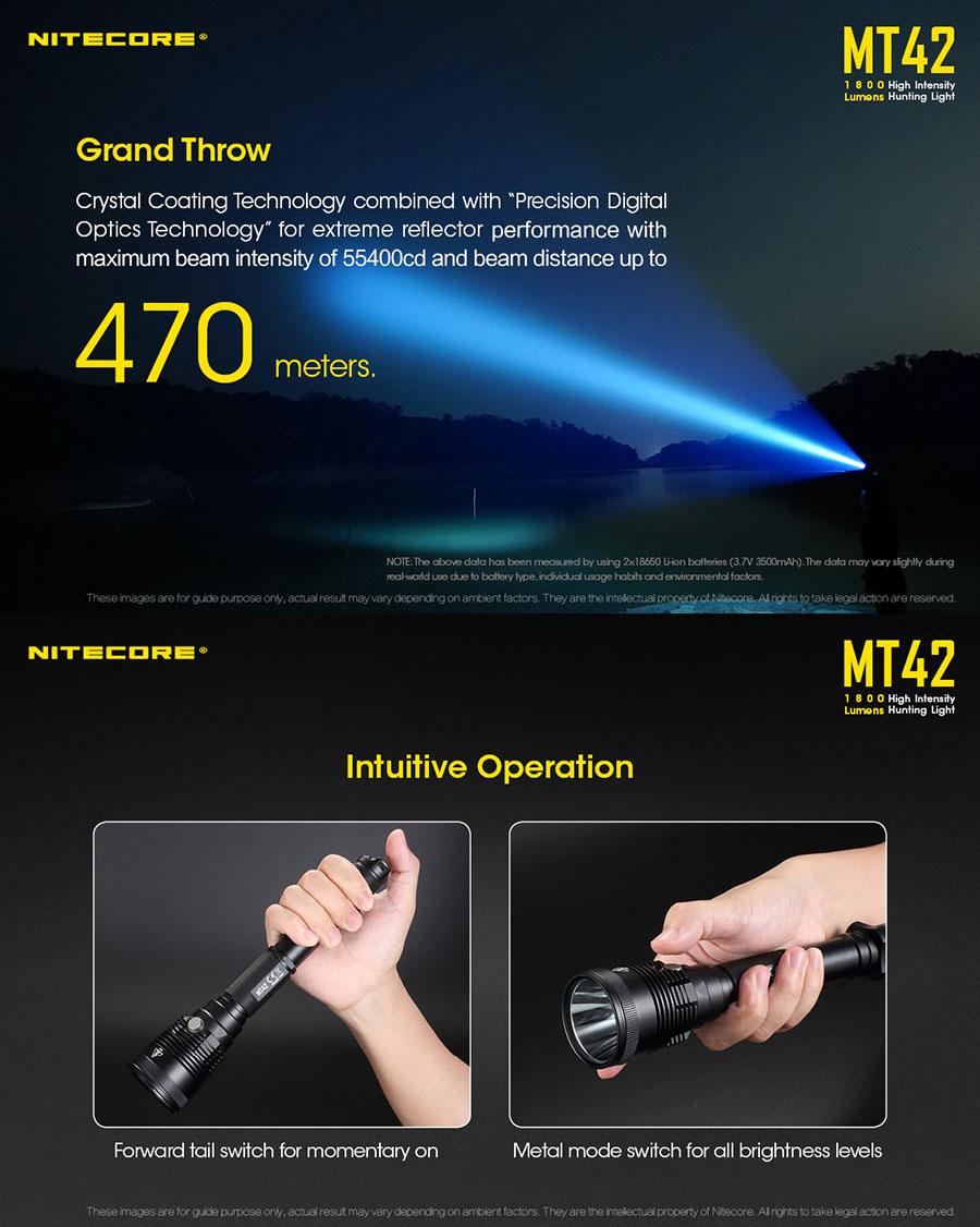 nitecore mt42 flashlight