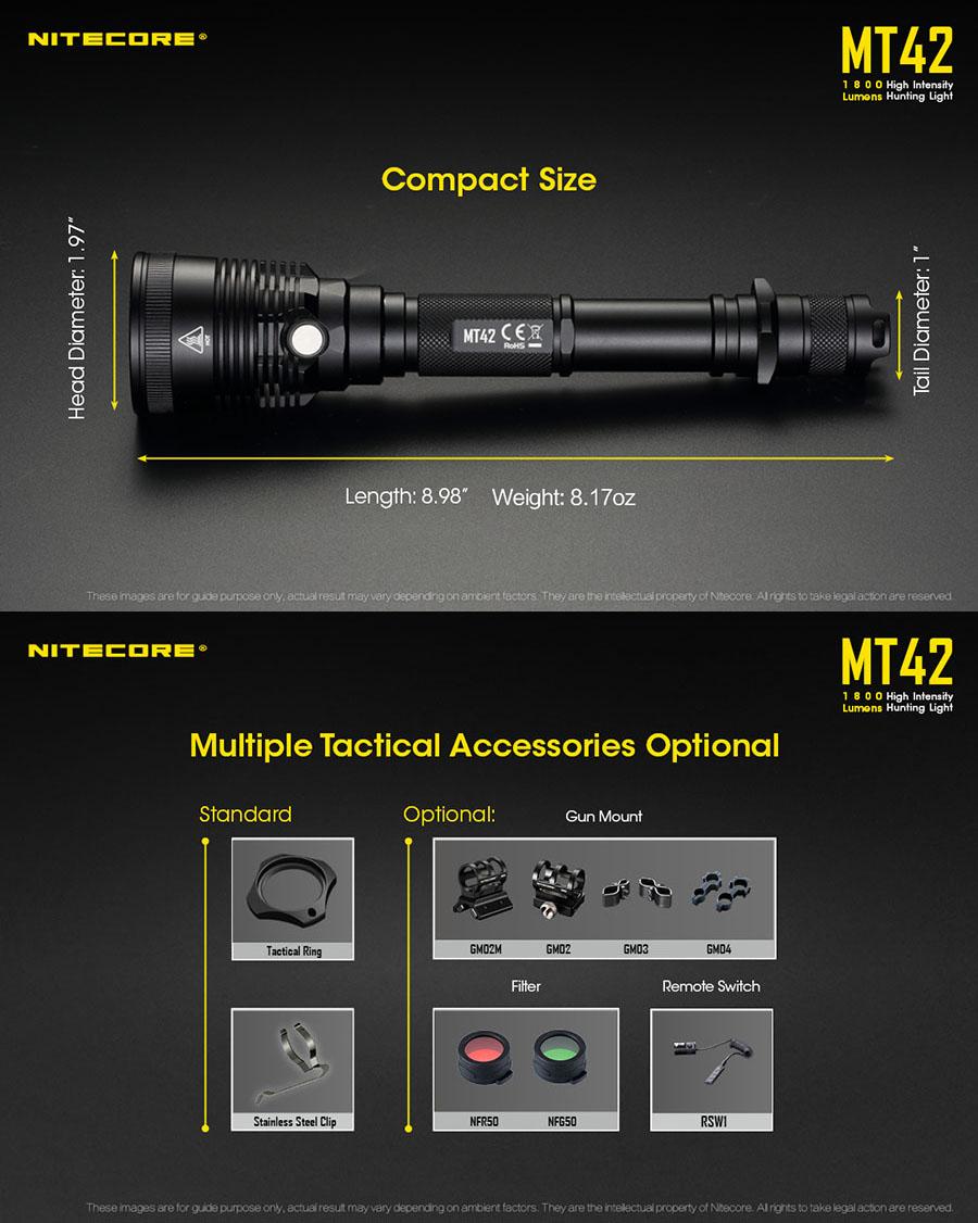 nitecore flashlight 2018