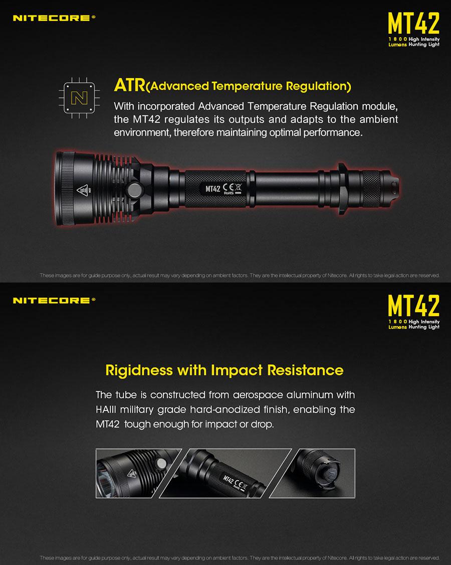 nitecore mt42 for sale