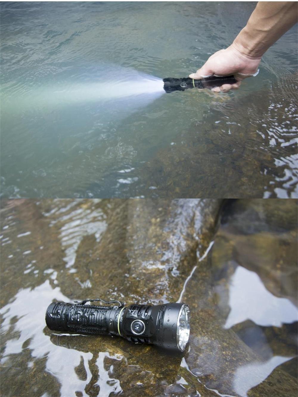 wuben a21 searching flashlight