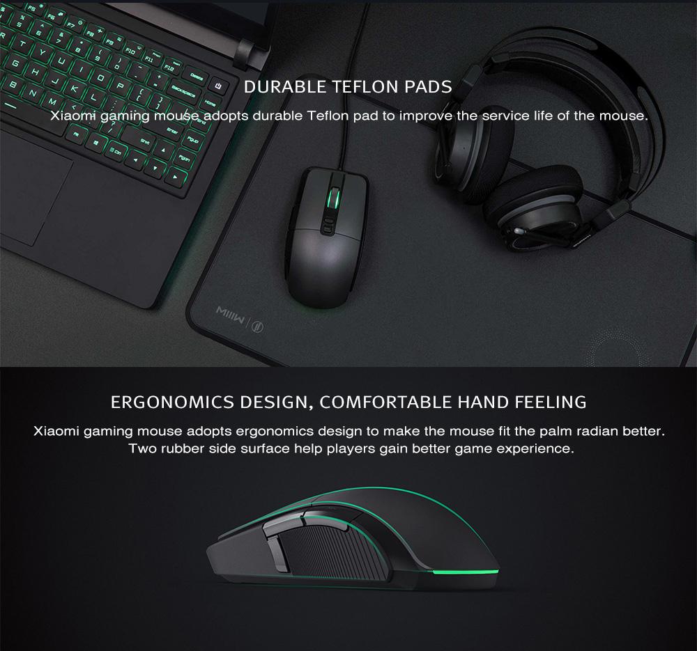 xiaomi 7200dpi gaming mouse
