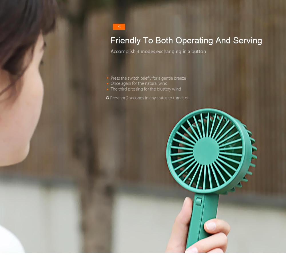 xiaomi travel handheld fan