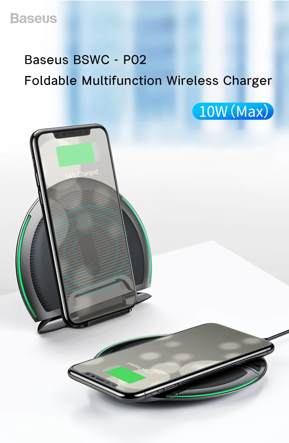 baseus p02 wireless charger
