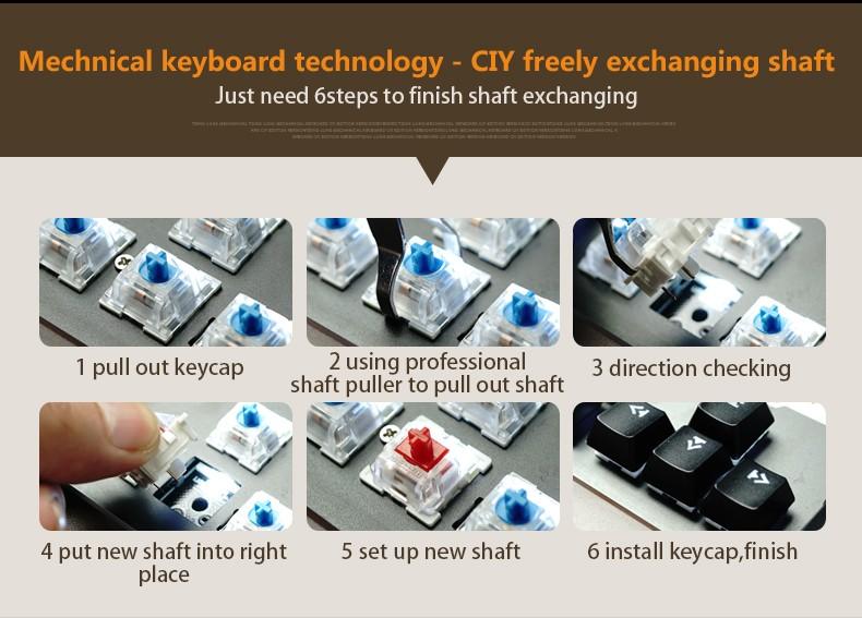 waterproof mechanical keyboard