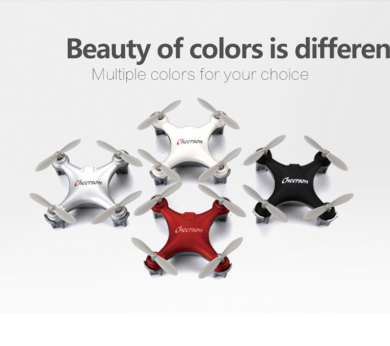 CHEERSON CX-10SE RC Mini Drone 2.4G 6 Axis with Toys RTF Diodes