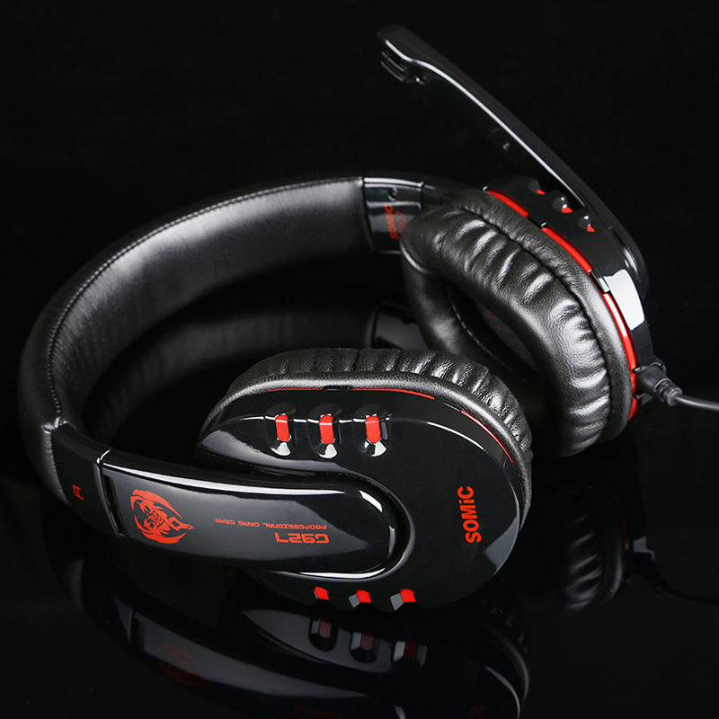 Somic G927 USB Gaming Headset for PC Deep Bass Stereo Surround 7.1