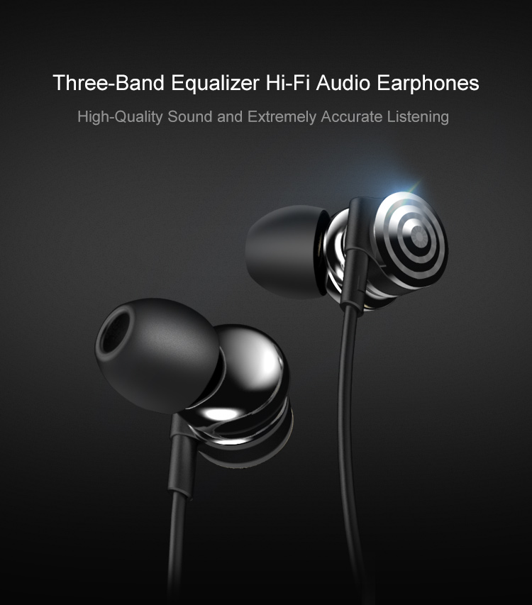 UiiSii Hi905 In-ear Headphone with Microphone for iPhone Xiaomi