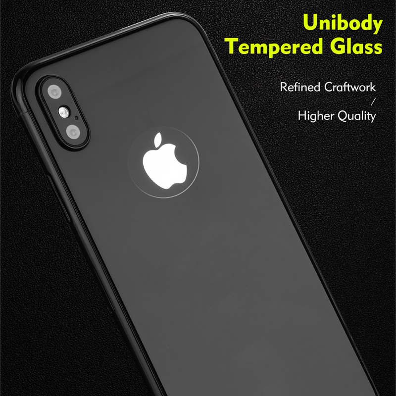 Benks 3D Glass Back Cover Protector for iPhone X